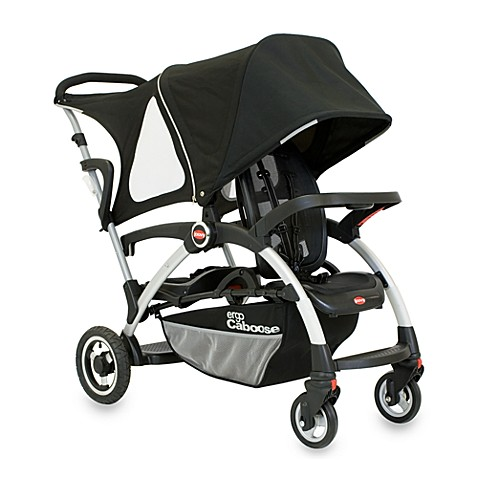 buy joovy ergo caboose stroller in black from bed bath beyond. Black Bedroom Furniture Sets. Home Design Ideas