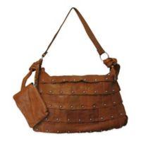 Amerileather Miao Leather Handbag in Brown