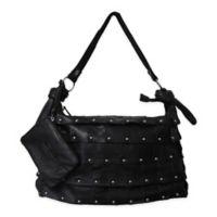 Amerileather Miao Leather Handbag in Black