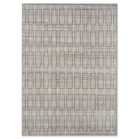 Rugs America Asteria Geo 4' x 6' Area Rug in Ivory