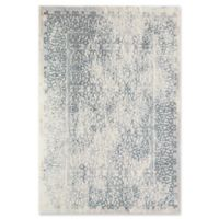 Rugs America Brighton Faded 8' x 10' Area Rug in Blue