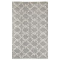 Rugs America Delano Clover 5' x 8' Handcrafted Area Rug in Grey