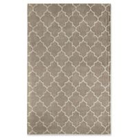 Rugs America Delano Lattice 5' x 8' Handcrafted Area Rug in Tan