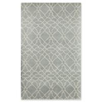 Rugs America Delano Imperial 8' x 10' Handcrafted Area Rug in Light Blue