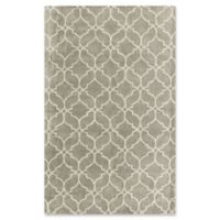 Rugs America Delano 5' x 8' Handcrafted Area Rug in Silver
