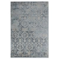 Rugs America Wilshire 5' x 8' Area Rug in Blue Escape