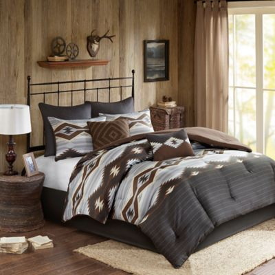 Buy Brown and Grey Comforter Sets from Bed Bath & Beyond