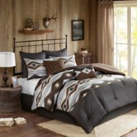Woolrich® Bitter Creek California King Comforter Set in Grey/Brown
