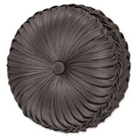 J. Queen New York™ Astoria Tufted Round Throw Pillow in Mink