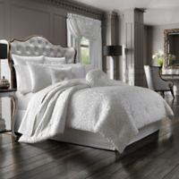 J. Queen New York™ Astoria Queen Comforter Set in White
