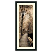 Amanti A Quiet Stroll I 18.25-Inch x 42.25-Inch Framed Wall Art