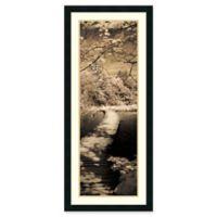 Amanti A Quiet Stroll II 18.25-Inch x 42.25-Inch Framed Wall Art