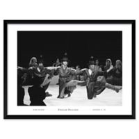 Fiddler Dancers 25-Inch x 19-Inch Framed Wall Art