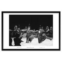 Fiddler Dancers 37-Inch x 25-Inch Framed Wall Art