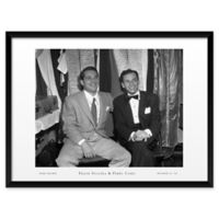 Frank Sinatra and Perry Como 25-Inch x 19-Inch Framed Wall Art