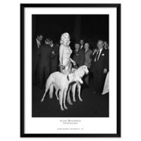 Jayne Mansfield 19-Inch x 25-Inch Framed Wall Art