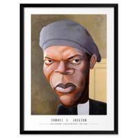 Brian Griffin's Samuel L. Jackson 19-Inch x 25-Inch Wall Art