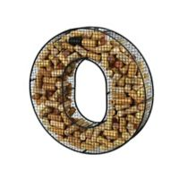 "Oenophilia Mesh Letter ""O"" Cork Collector in Black"