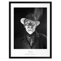 Smoker 19-Inch x 25-Inch Framed Wall Art