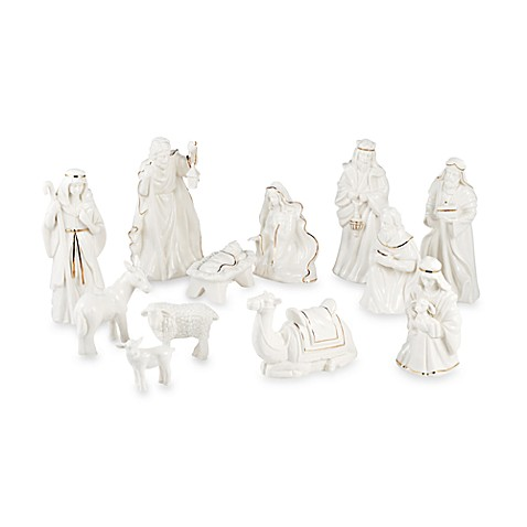 Mikasa Holiday Splendor Nativity Set - 12 Pieces