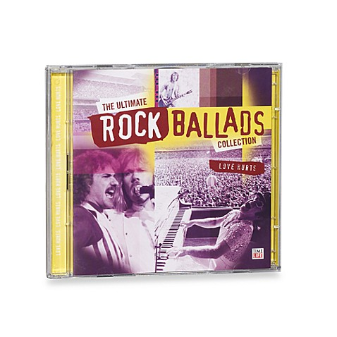 Time Life Oldies But Goodies Ultimate Rock Ballads Cd