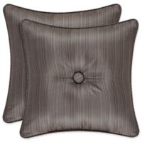 J. Queen New York™ Astoria Square Throw Pillow in Mink
