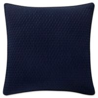 Waterford® Gabion European Pillow Sham in Indigo/Taupe