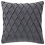 Waterford® Gabion Pintuck Throw Pillow in Indigo