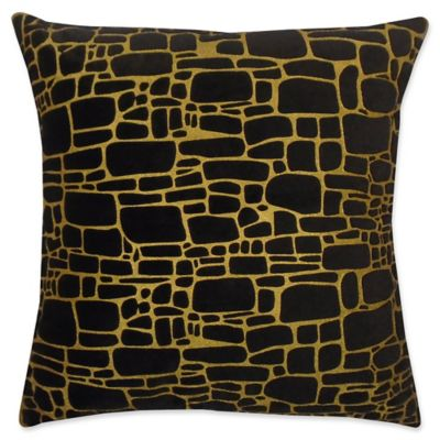 royal by decorative cyan celebration design pillow pillows gold