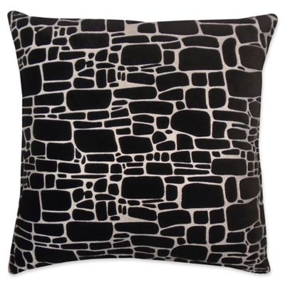 Popular Buy Black/Silver Throw Pillows from Bed Bath & Beyond VY99