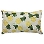 Tropics Allover Rectangular Indoor Throw Pillow in Yellow/Green