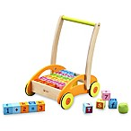 Classic World Wood Baby Walker with Blocks