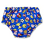Emoji Sports Size 12-18M Reusable Snap Swim Diaper