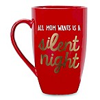 "Pearhead ""Silent Night"" Mug in Red"