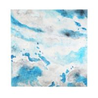 Cloudy Sky Abstract 36-Inch Square Canvas Wall Art