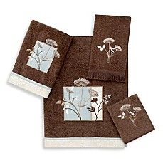 Avanti Queen Anne 100% Cotton Bath Towels in Mocha