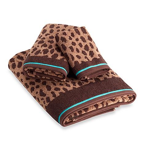Dkny Amazon Leopard Towels 100 Cotton Bed Bath Amp Beyond