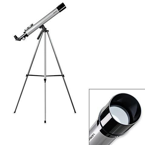 emerson refractor telescope with tripod bed bath beyond rh bedbathandbeyond com Telescope Tripod Emerson Telescope 50X 100X Review