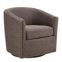Madson Park Tyler Swivel Chair in Chocolate
