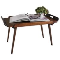 Studio A Home Hemingway Folding Bed Tray in Brown