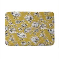 "Deny Designs 17"" x 24"" Pattern State Floral Meadow Memory Foam Bath Mat"