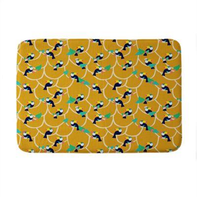 piece bright yellow rug mats bathroom rugs sets mat bath light set solid