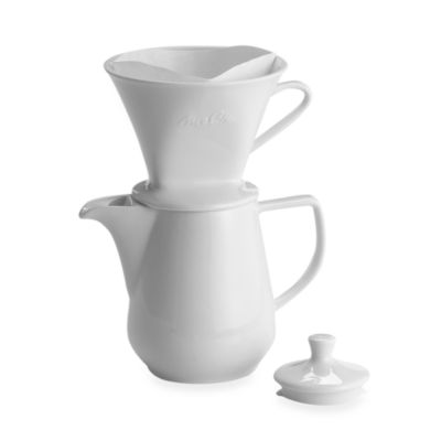 Melitta Pour Over 6-Cup Porcelain Coffee Maker - Bed Bath & Beyond
