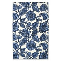 Mohawk Home Woodbridge Marjorelle Gardens 7'6 x 10' Rug in Blue