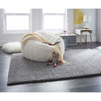 "Mohawk Carpet Wind Drift 60"" x 84"" Rug in Grey"