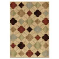 Orian Rugs Heritage Malkbeck Bisque Woven 5'3 x 7'6 Area Rug in Multi