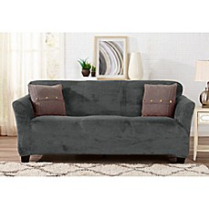great bay home gale strapless sofa slipcover - Slipcover Sofa