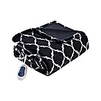 Beautyrest® Ogee Heated Throw Blanket in Black