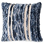 Jean Chindi Square Indoor Throw Pillow in Navy