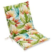 Print Indoor/Outdoor Folding Sling Chair Cushion in Shady Palms